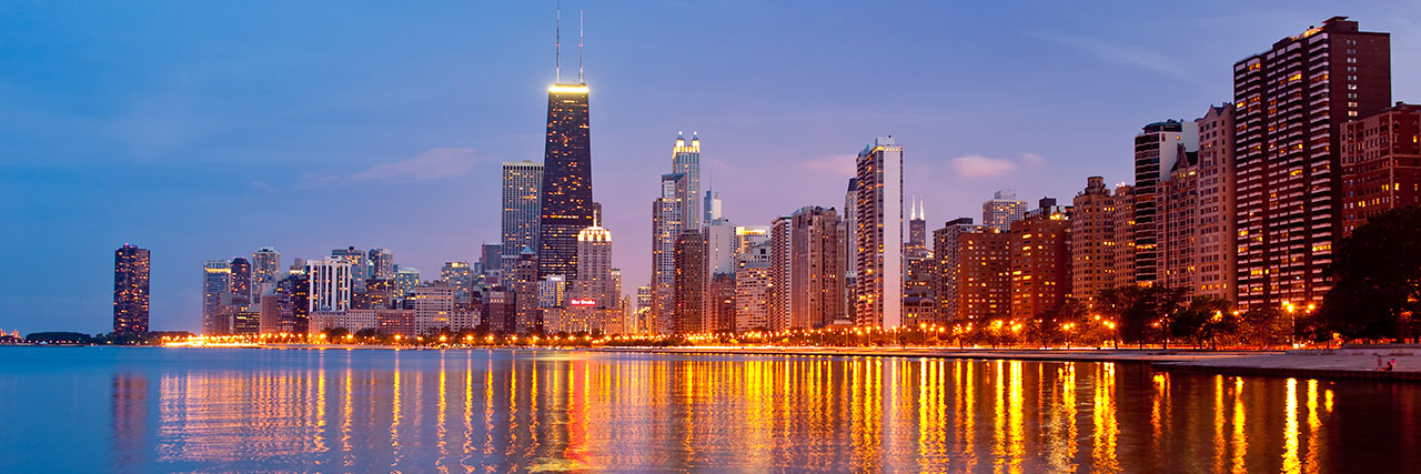 Chicago Skyline Linkedin Background Blackmore Partners Inc